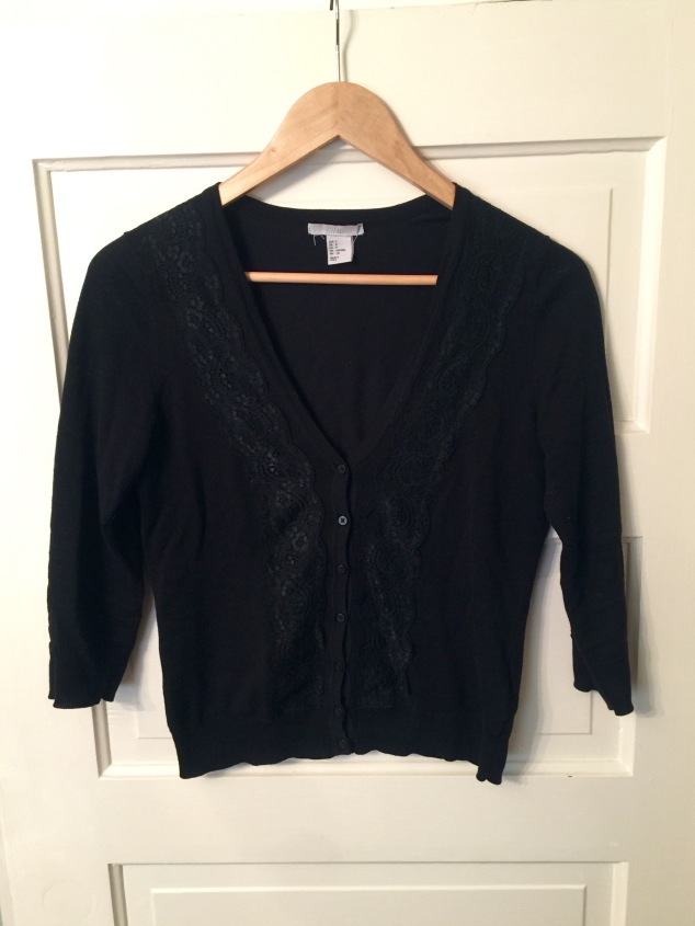 10 item wardrobe black sweater H&M